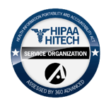 360 Advanced HIPAA Seal of Completion transp