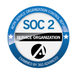 360 Advanced SOC 2 Seal of Completion transp